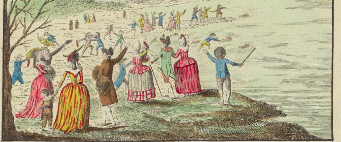 Ballon de Jean-Pierre Blanchard. 1784.