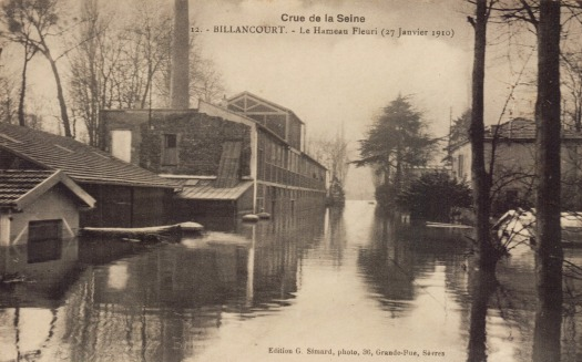 Hameau fleuri3 Crue de 1910