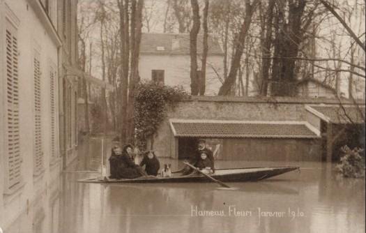 Hameau Fleuri crue de 1910