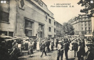 Place Jules Guesde. Vers 1930.