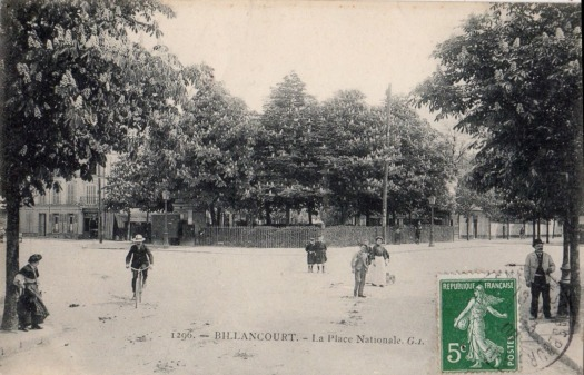 Place Jules Guesde. Vers 1910.
