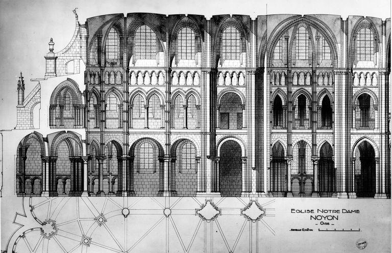 cathédrale de Noyon. André Collin