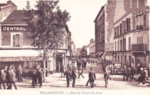 Jules Guesde et Rue du Point du Jour