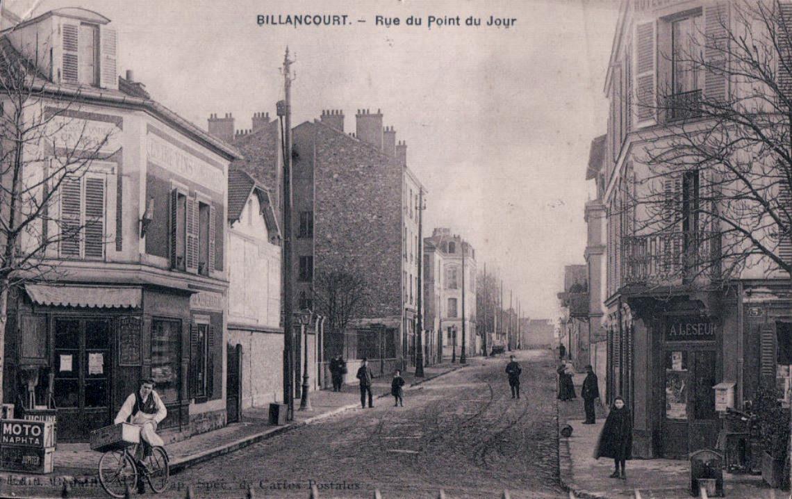 ue du Point-du-Jour vue de la Place Jules Guesde