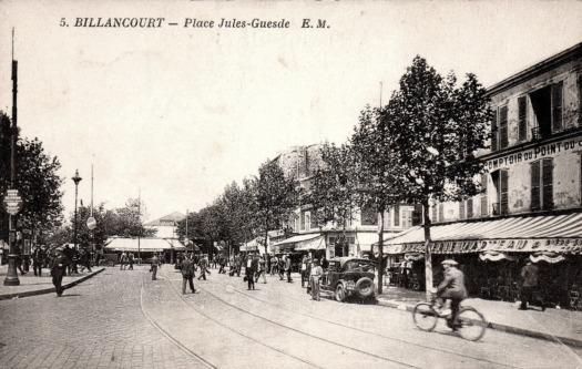 Place Jules-Guesde Grand Comptoir du Point-du-Jour 1930