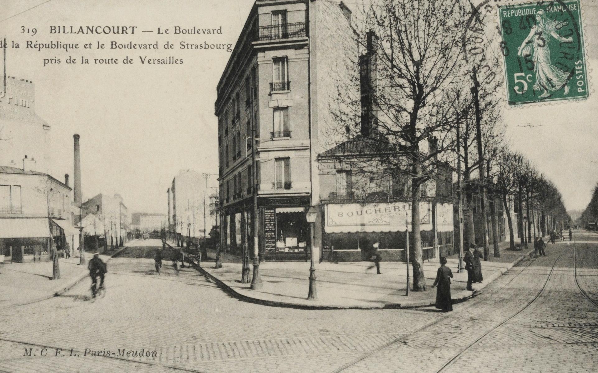 Place Marcel Sembat 1910