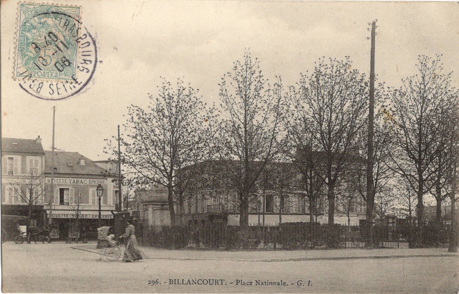 Place Nationale 1906