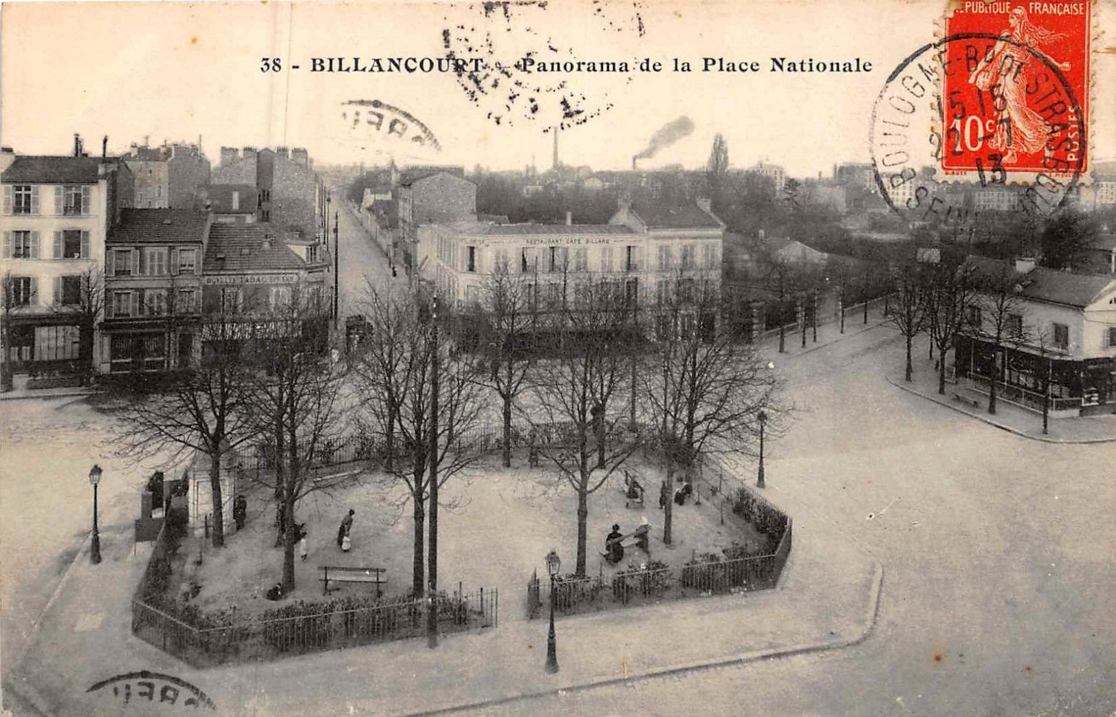 Place Nationale 1913