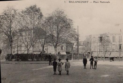 Place Jules-Guesde Grand Comptoir du Point-du-Jour vers 1900