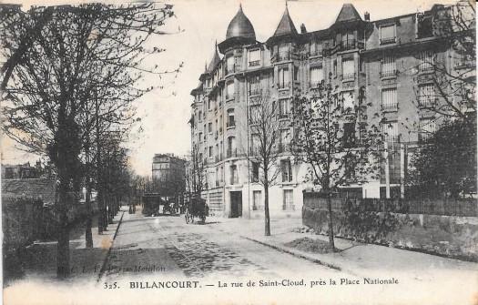 Rue de Saint-Cloud - Heinrich 1920