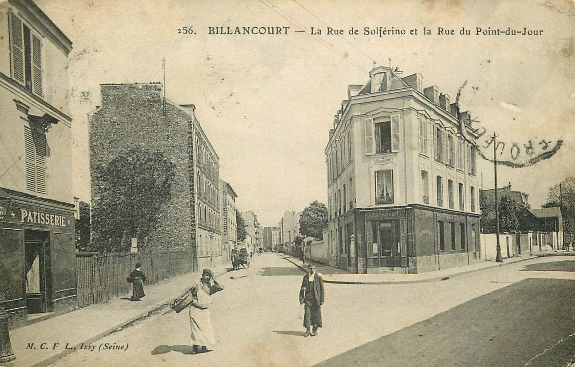 Hotel Solferino et Artistic Palace vers 1910