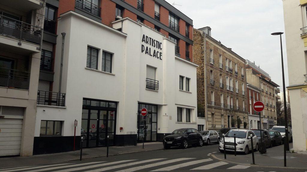 L'Artistic Palace en 2020
