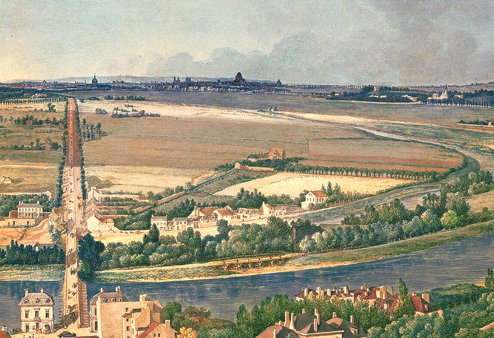 Carle Vernet - Zoom sur la Ferme de Billancourt (1810-1812)
