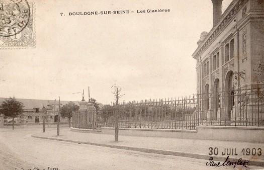 Les Glacières 1903