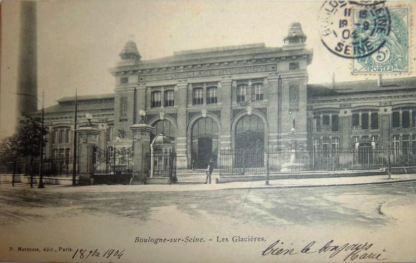 Les Glacières 1904