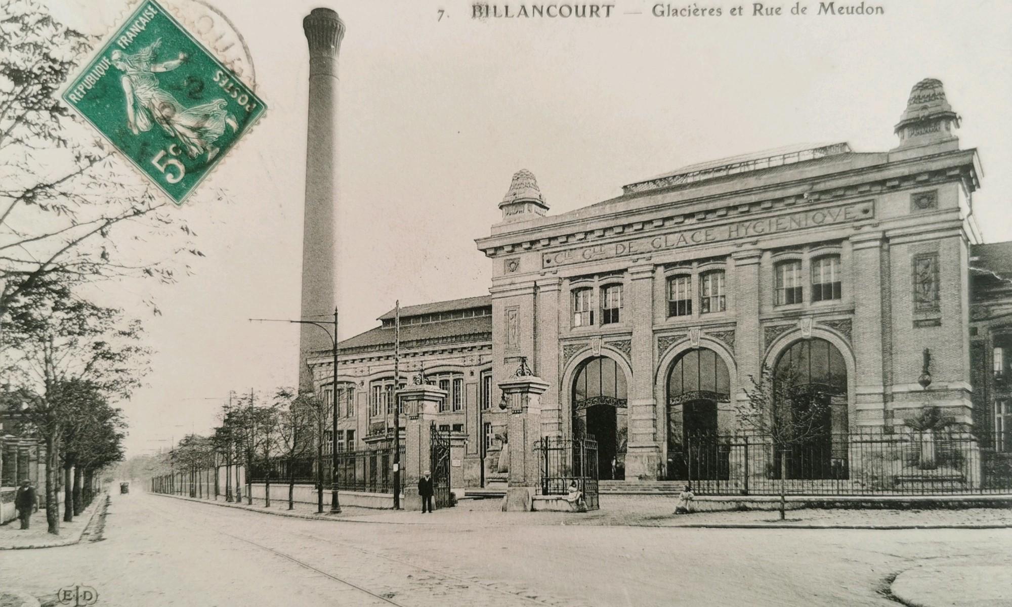 Glacières de Billancourt vers 1900