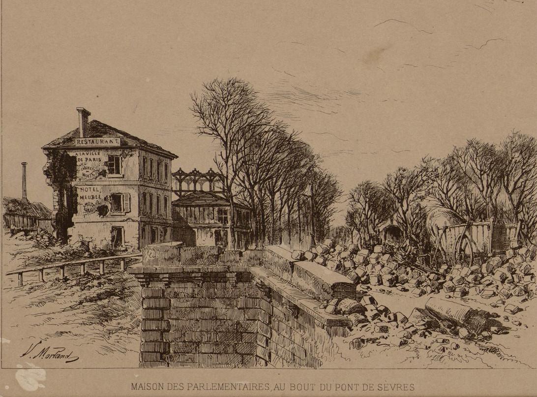 Hotel du parlementaire en 1870