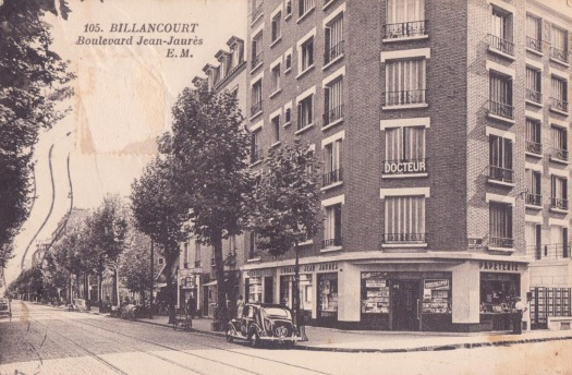 Avenue Jean Jaures librairie Malet