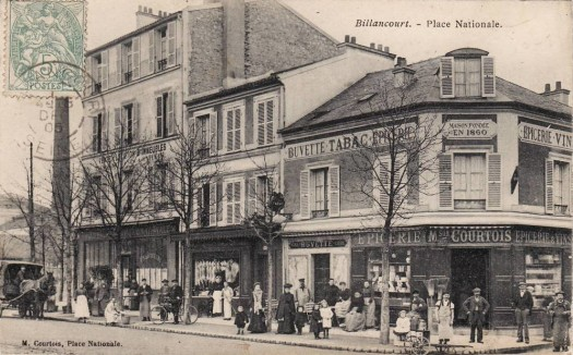 Place Nationale 1905