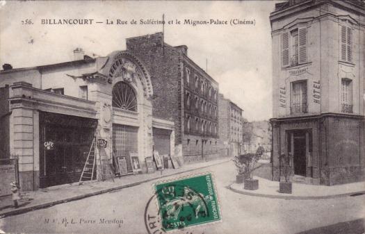 Le Mignon Palace en 1914