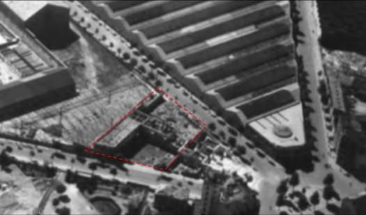 1945 Ecole bombardée