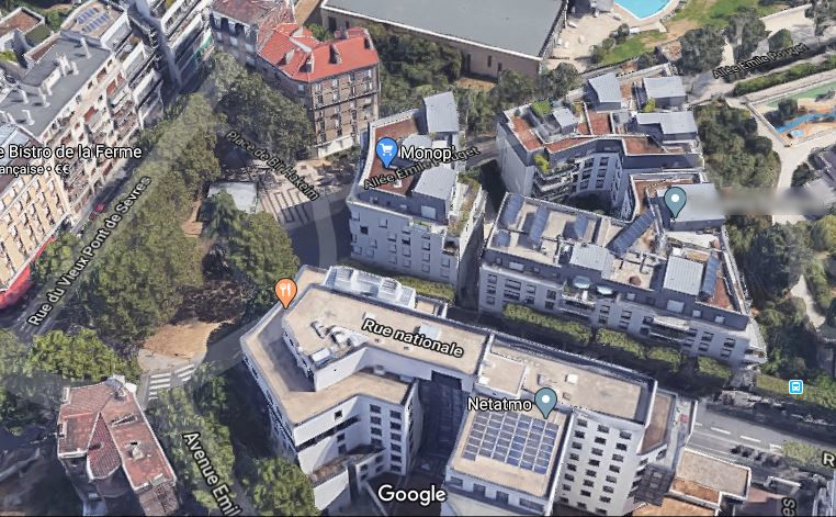 Place Bir-Hakeim Eglise et Cours Sévigné en 2020