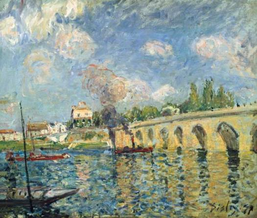 Alfred Sisley Pont de Sèvres 1877