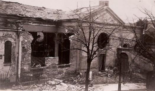 Eglise Immaculée Conception détruite bombardements 1942-1943