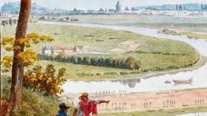Jean-Lubin Vauzelle - Zoom Vue de Paris et de la Seine depuis St-Cloud-vers 1812