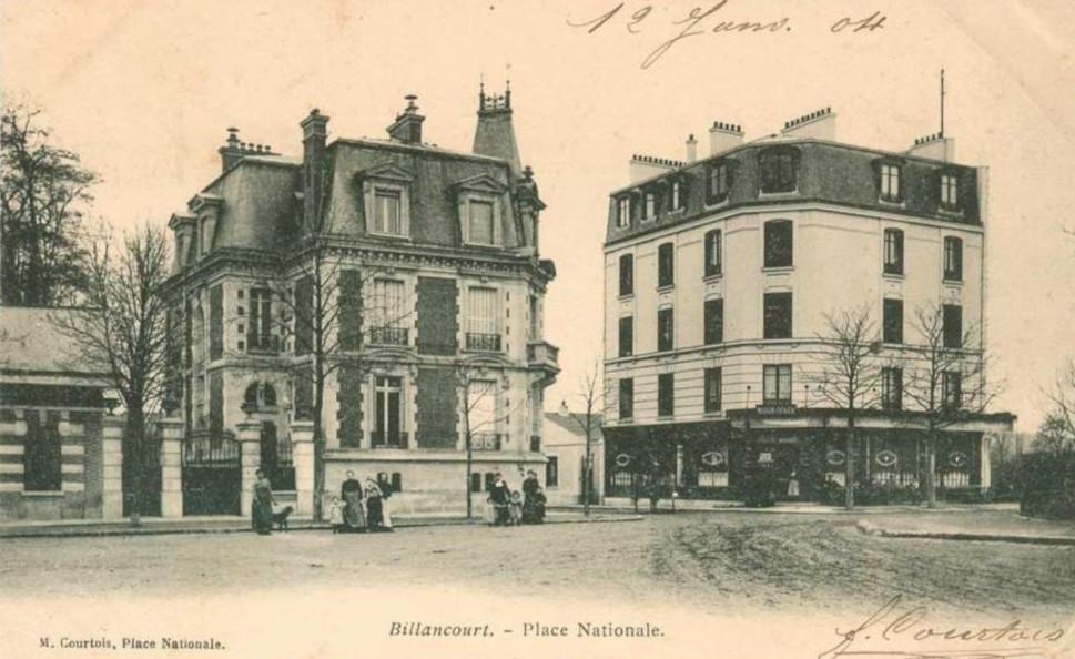 Place Nationale Maisons Bican et Geiger 1904