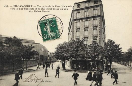 Jules Guesde Brasserie Billancourt 1911