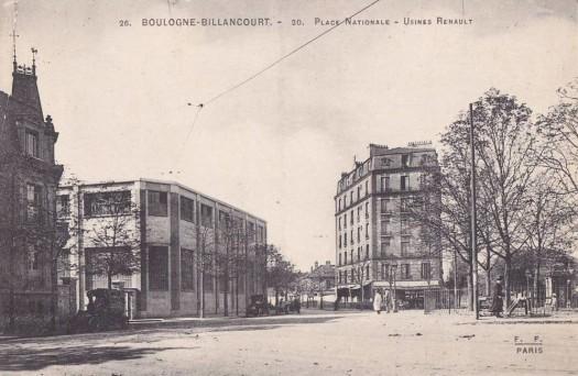 Place Jules Guesde et Maison Bican