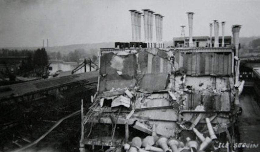 bombardement 03 Mars 1942 Renault