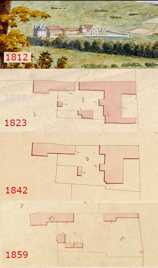 1826 la ferme sur 6 lots