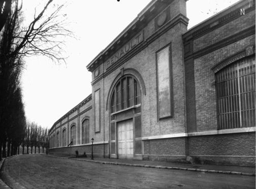 Mur de l'artillerie en 1923