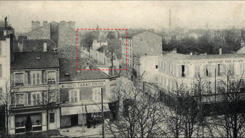Photo mystérieuse propriété 1913 Jules Guesde