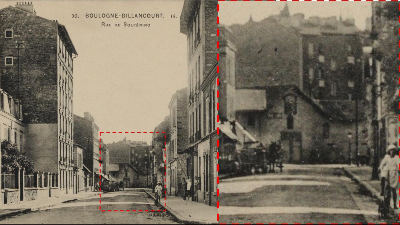 Bâtiment mystérieux rue du Point-du-Jour