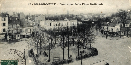 Place Nationale vers 1913