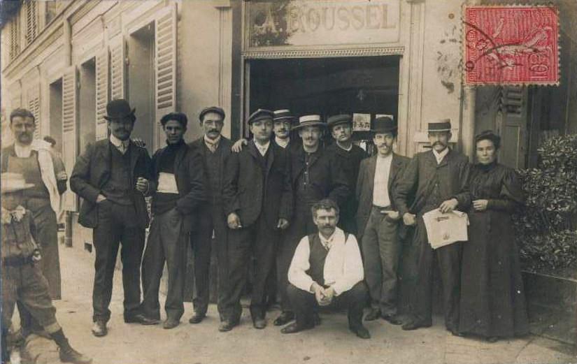 Place Nationale restaurant Roussel