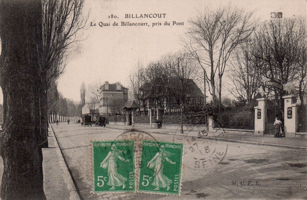 Quai de Billancourt Select Leons Chantecler