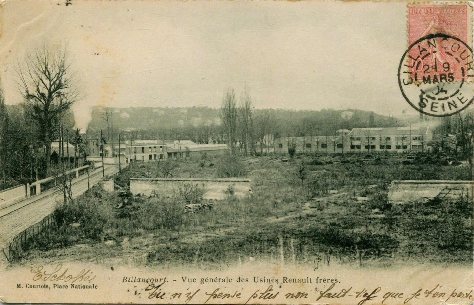 1900 Carte Pont et Chaussées