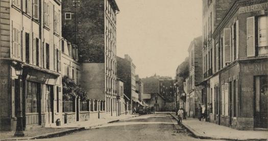 Rue de Solférino du carrefour avec la rue d'Issy