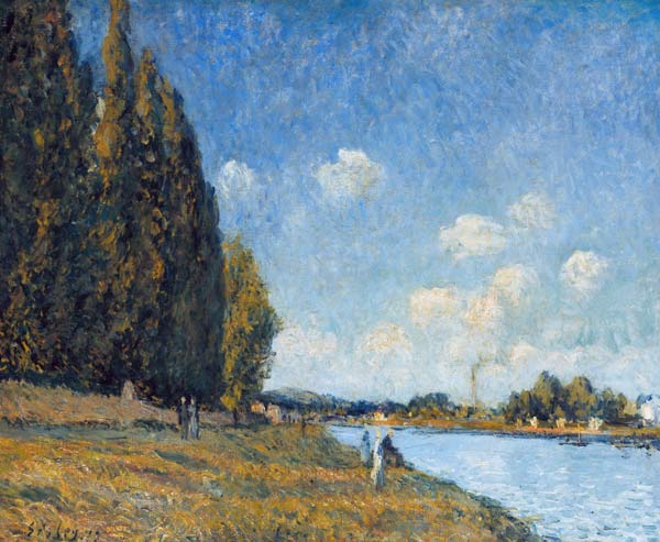 Alfred Sisley - La Seine à Billancourt 1879