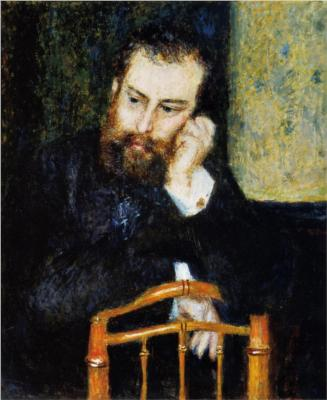 Alfred Sisley par Auguste Renoir