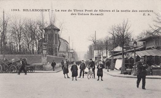 Photo 10 - Vue de la rue du Vieux-pont-de-Sèvres, vers la Seine