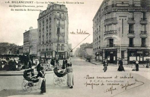 Photo 11 - Vue de la rue du Vieux Pont-de-Sèvres depuis la place du marché