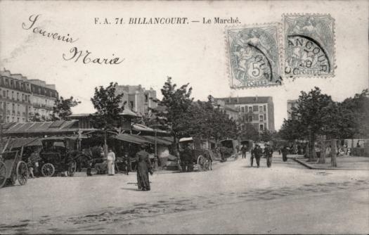 Photo 12 - vue du marché depuis la place du marché, vers la rue Desfeux