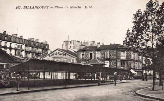 Photo 13 - vue du marché vers la rue Desfeux