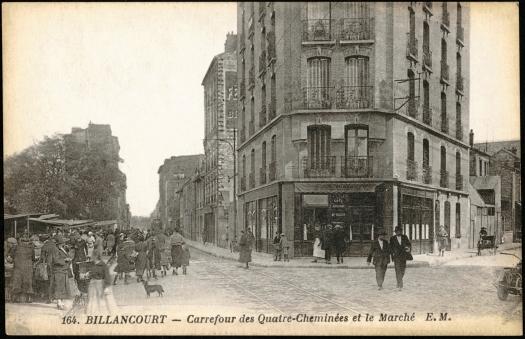 Photo 14 - vue de la rue des quatre cheminées depuis le marché