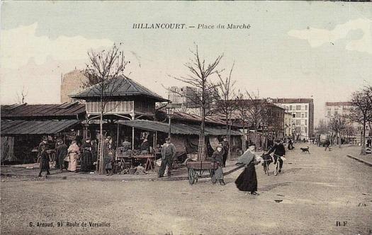 Photo 15 - vue du marché depuis la place du marché vers la rue Desfeux